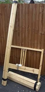 lade wood single bed frame solid pine ikea fjellse with wooden slats ikea