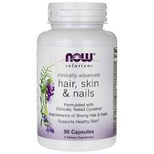 now foods hair skin u0026 nails 90 caps swanson health products