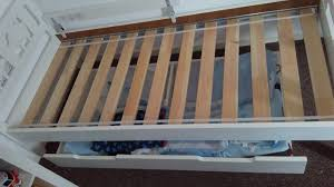 Ikea Toddler Bed Manchester White Toddler Bed Ikea Kritter Used For A Few Months Still In Very