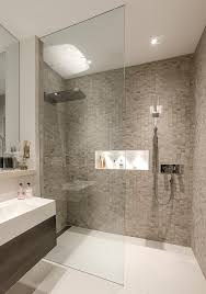 Small Bathroom With Walk In Shower Walk In Showers Designs Bathroom Contemporary With Basement Shower