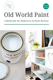 industrial white bed set old world paint review