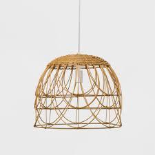 jimco lighting bono ar upc 082803398768 natural rattan ceiling light opalhouse white