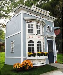 Backyard Play Houses by 25 Best Victorian Kids Playhouses Ideas On Pinterest Victorian