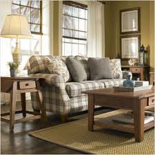 Broyhill Living Room Chairs Blue Plaid Sofa Broyhill 6440 3q Angeline Cottage Sofa In Blue