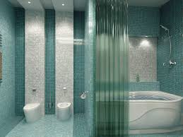 Bathroom Mosaic Design Ideas Fabulous Design Ideas Using Rectangular White Bathtubs And Blue