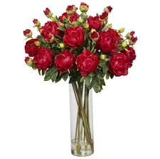 Flower Decorations For Home by Home Decoration Perfect Red Rose Fake Floral Arrangements For