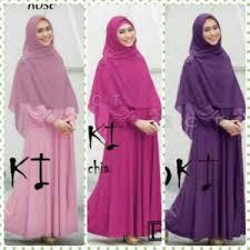 Baju Muslim Ukuran Besar baju gamis set oki xl busana muslim ukuran besar big size