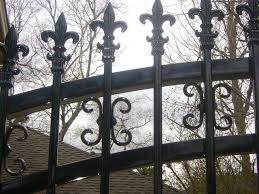 iron fencing fencing installation specialists tim s fences
