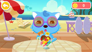 ice cream u0026 smoothies by baby bus game for kids free download