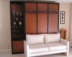 Wall Bed Sofa by Transformable Murphy Bed Over Sofa Systems That Save Up On Ample
