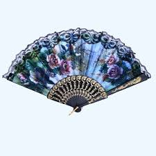 Chinese Fan Wall Decor by Aliexpress Com Buy 1 Pcs Color Random Spanish Fans Flower Floral