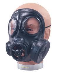 fancy dress gas mask halloween rubber full face mask ebay
