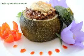 recette cuisine courgette courgettes farcies