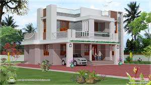 beauty single storey kerala house model with kerala house plans