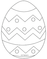 easter egg coloring pages pinterest games free printable for