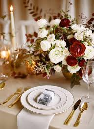 christmas napkin rings table linens 6 ways to give your table setting a holiday glow orange county