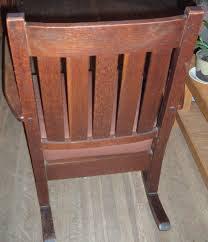 Mission Oak Rocking Chair Mission Rocking Chair Collectors Weekly