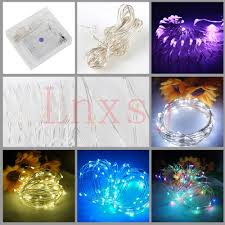 usb battery led el wire christmas tree night light show fairy