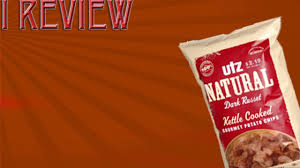 i review utz gourmet dark russets kettle cooked potato chips youtube
