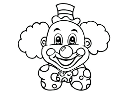 free clown coloring pages u2013 corresponsables co