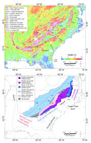 Southeastern Usa Map by Earth Element Mineral Potential In The Southeastern Us Coastal Plain