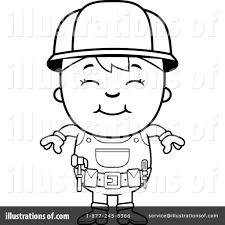 handyman clipart 1141950 illustration by cory thoman