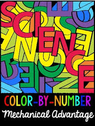 mechanical advantage color by number activity by maddox u0027s market