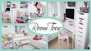 Organizing Desk Drawers by Room Tour 2015 Office U0026 Vanity Organization Storage Ideas