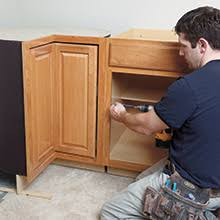 how to replace base cabinets now installation