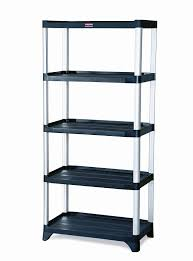 Furniture Rubbermaid Indoor Storage Rubbermaid Rubbermaid 9t39 Shelving 5 Shelf Unit