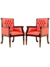 bureau style victorien 2 fauteuils visiteurs de bureau style victorien en acajou meuble de