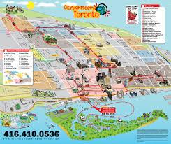 Harbor College Map Toronto City Tour With Boat Tour Toronto Tours