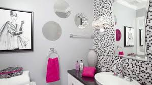 Pink And Brown Bathroom Ideas Bathroom Ideas Grey Color Ceramics Borders Shower