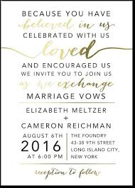 Informal Wedding Invitation Wording Wedding Invitation Wording Without Parents Vertabox Com