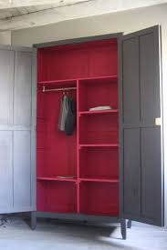 armoire vintage chambre armoire grise dressing pour chambre tour de