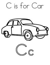 c is for cat coloring page letter c coloring page 23464 bestofcoloring com