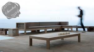 Modern Outdoor Wood Bench by Modern Interior Design Modern Outdoor Lounge Sofa Gandia Blasco