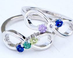 2 mothers ring multistone rings etsy