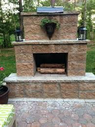 Backyard Fireplace Ideas Simple Ideas Build Outdoor Fireplace Fetching Plans Brick Fire Pit