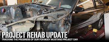 fox mustang drag car build project rehab fox mustang build updates fordmuscle