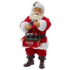 Coca Cola Christmas Ornaments - coca cola christmas figurines u0026 collectibles indoor christmas