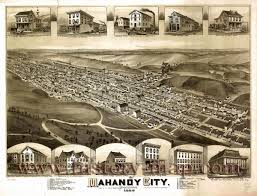 Map Of Pennsylvania Cities by Mahanoy City Pennsylvania