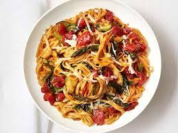 cuisine pasta roasted vegetable pasta recipe food kitchen food