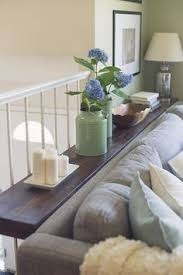 Sofa Table Against Wall 20 Great Ways To Make Use Of The Space Behind Couch For Extra