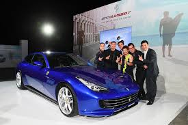 Singapore Celebrates The Launch Of The Ferrari Gtc4lusso T