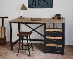 bureau style atelier décoration style industriel loft maison yonne l atelier k247