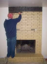 simple can i paint my brick fireplace interior design ideas