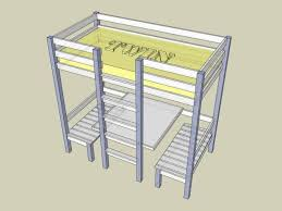 How To Make A Loft Bed With Desk Underneath by Best 25 Build A Loft Bed Ideas On Pinterest Boys Loft Beds