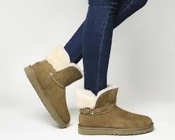 ugg gloves sale office lyst ugg karel boots in brown