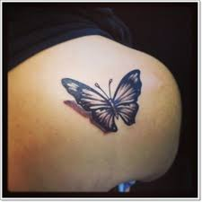 3d butterfly shoulder meaning tattoos for design idea for
